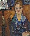 Jeanne Hébuterne - La femme au collier, modèle de Modigliani.jpg