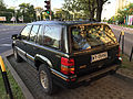 Jeep Grand Cherokee Limited (ZJ) green European Specs in Warsaw Poland rear.jpg