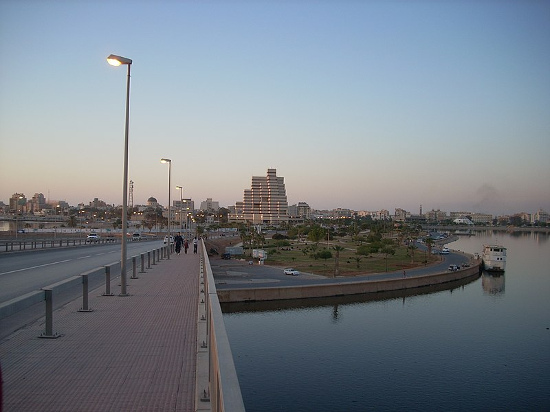 Jeliana Bridge Benghazi.JPG