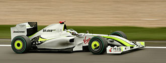 2009 German Grand Prix - Jenson Button qualified 3rd and finished 5th, but managed to retain his lead of the Driver's Championship.