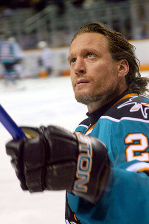 Jeremy Roenick, ice hockey player of the San J...