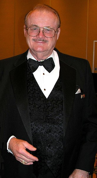 Jerry Pournelle - Pournelle at NASFiC in 2005