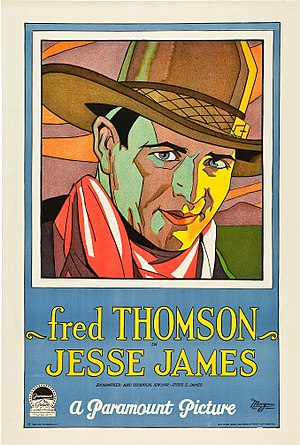 Jesse James (1927 film) - lobby poster