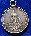 Jesuit College Silver Medal 1906 Commemorating 50 Years Kollegium Kalksburg near Vienna. Reverse.jpg