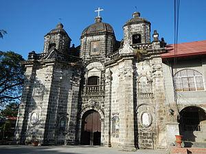 San Luis Gonzaga Parish Church - Façade of the San Luis Church
