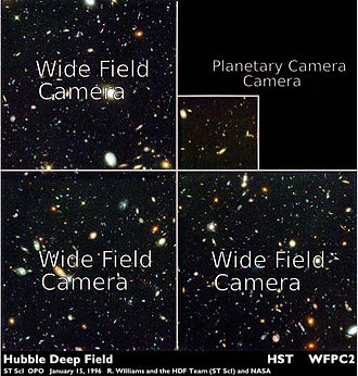 Wide Field and Planetary Camera 2 - Image: Jfader hubble