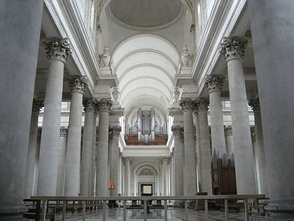 Wonderful Interior Of Arras Cathedral (1755)