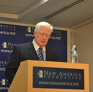 New America (organization) - Congressman Jim Moran speaking at New America Foundation