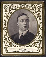 Jimmy McAleer (1909 baseball card)