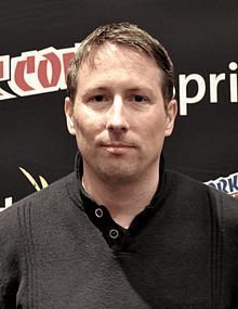 Joe Cornish at Comic Con.jpg