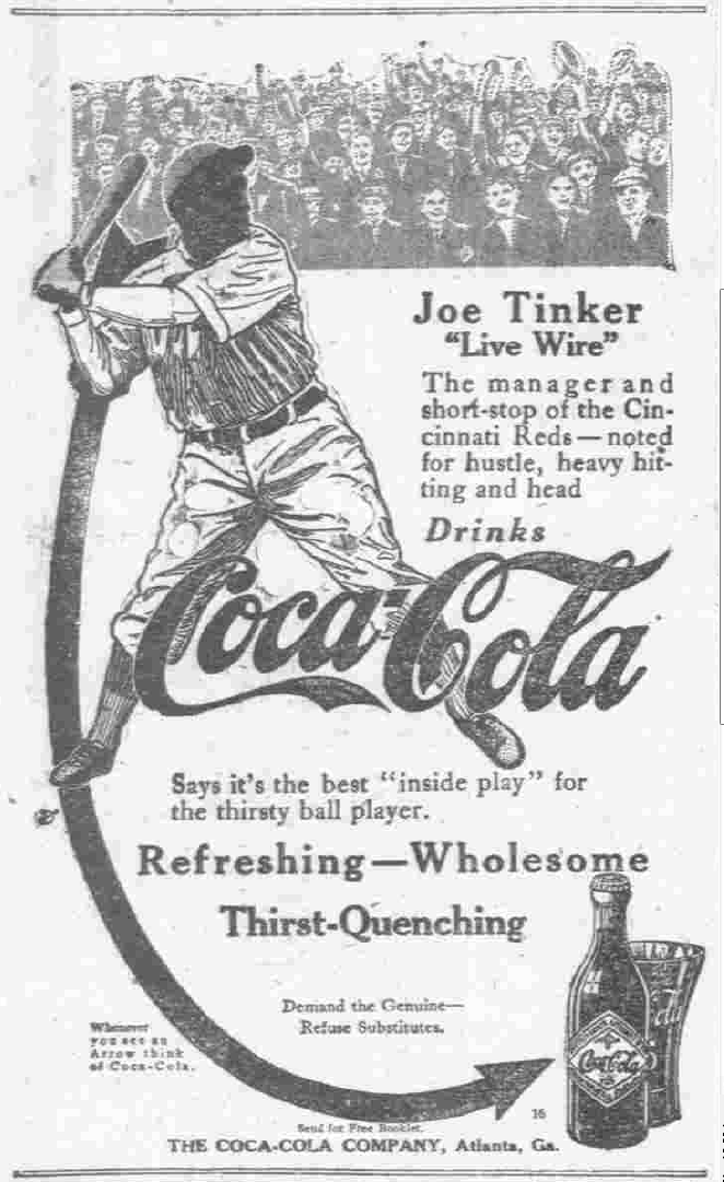Joe tinker coke ad