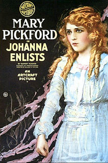 <i>Johanna Enlists</i> 1918 film by William Desmond Taylor
