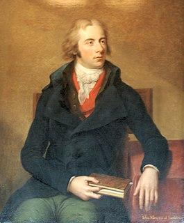 John Petty, 2nd Marquess of Lansdowne British politician
