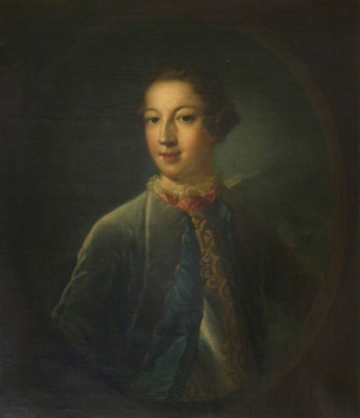 John Erskine, Earl of Mar (1741–1825) - Portrait of John Francis, 7th Earl of Mar, Aged 17, painted by Allan Ramsay.