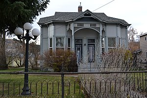 National Register of Historic Places listings in Union County, Oregon - Image: John Anthony House (La Grande, Oregon)