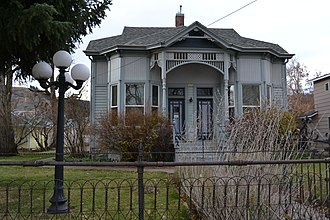 National Register of Historic Places listings in Union County, Oregon - Image: John Anthony House (La Grande, Oregon)