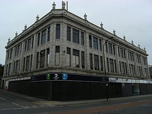 Attercliffe - The former John Banner department store