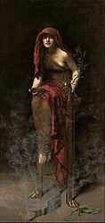 John Collier: Priestess of Delphi