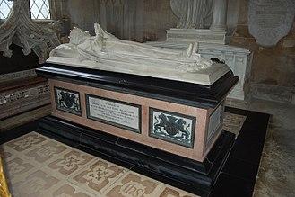 John Cust, 1st Earl Brownlow - John Cust's funerary monument in Belton Church, Lincolnshire