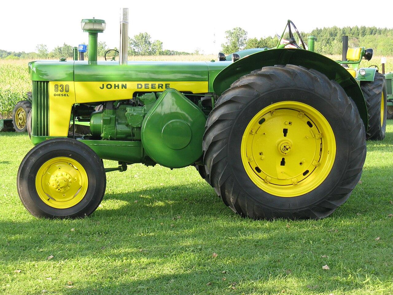 datei:john deere 830 diesel tractor - wikipedia