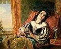 John Phillip, A Lady Playing the Mandolin.jpg