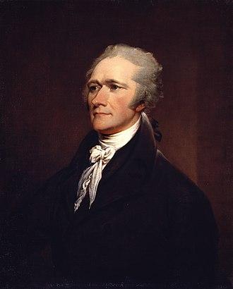 Alexander Hamilton (Ceracchi) - Image: John Trumbull Alexander Hamilton Google Art Project