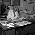 John Young in his room at the Wellcome Institute Wellcome L0012874.jpg