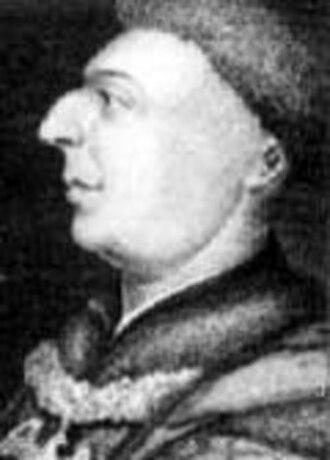 John Dunstaple -  A portrait of John of Lancaster, 1st Duke of Bedford, one of Dunstaple's principal patrons