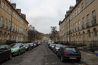 Grade I listed buildings in Bath and North East Somerset - Image: Johnstone Street, Bath
