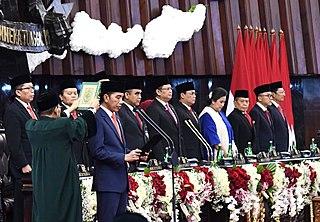 Second inauguration of Joko Widodo