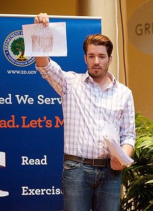 Jonathan Scott (TV personality) - Image: Jonathan Scott Let's Read Let's Move