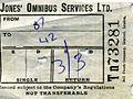 Jones' Omnibus Services Ltd., Aberbeeg. Bellgraphic bus ticket, 1970 - Flickr - sludgegulper.jpg