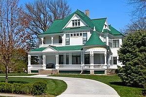 National Register of Historic Places listings in Seward County, Nebraska - Image: Jones House Seward NE
