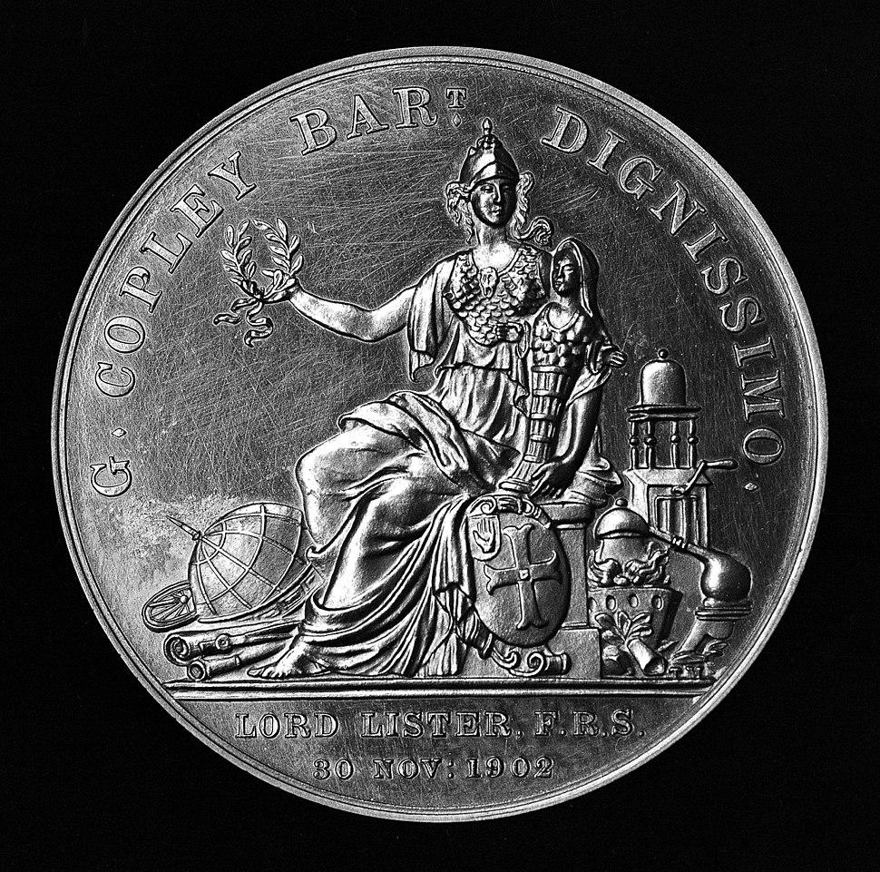 Joseph Lister, Copley Medal (gold), 1902 Wellcome M0007837