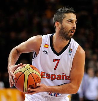Juan Carlos Navarro (basketball) - Navarro, as captain of Spain's national basketball team