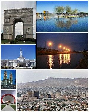 Ciudad Juárez - Collage of Juárez scenes