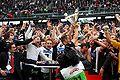 Jubel des SK Sturm Graz über den Cupsieg 2010 (2).jpg