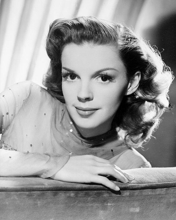 Photo Judy Garland via Wikidata