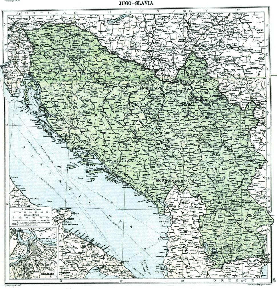 Jugo-slavia, 1919