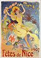 Jules Chéret - Fêtes de Nice 1907 Poster.jpg