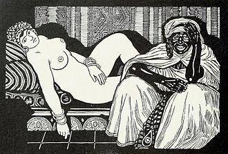 Exoticism - Exotic figures in Jules Migonney's Venus mauresque