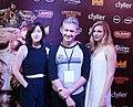 Julia Hart, Tim League and Brit Marling red carpet Fantastic Fest 2015-9888 (27438747835) (cropped).jpg