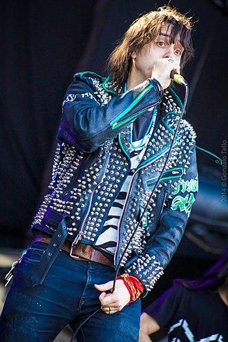 Julian Casablancas - Julian Casablancas and The Voidz at Lollapalooza Chile, 2014