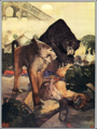 Jungle Book (1913) The Monkey Fight.png