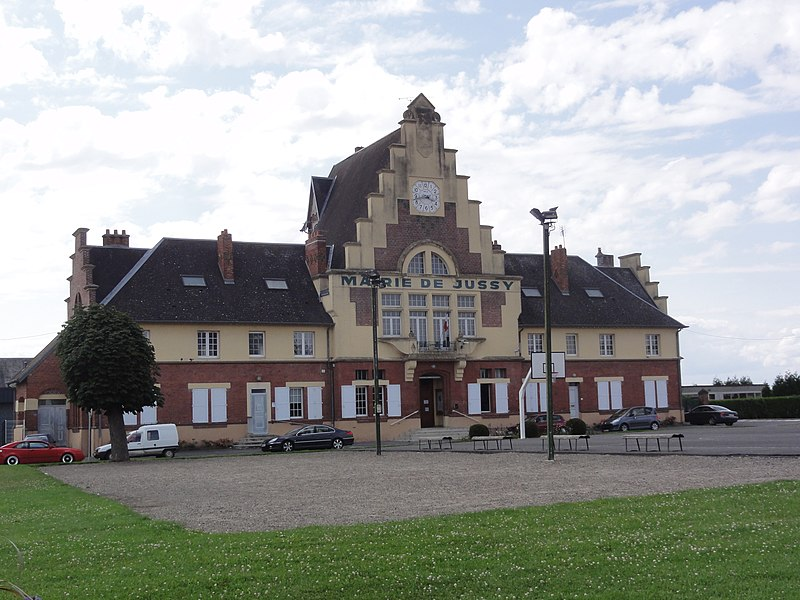 Jussy (Aisne) mairie