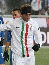 Marchisio nel 2010, nella trasferta di Europa League contro il Lech Poznań