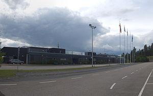 Tikkakoski - Image: Jyväskylä airport terminal