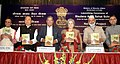 K. Rahman Khan launching the pilot project of the Nalanda Scheme, a faculty assistance programme in Minority Colleges, at a function, in New Delhi. The Minister of State for Minority Affairs, Shri Ninong Ering, the Member.jpg
