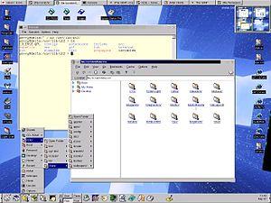 K Desktop Environment 1 - K Desktop Environment 1.1