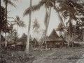 KITLV - 86782 - Stafhell & Kleingrothe - Medan-Deli - Karo Batak houses in a village on the east coast of Sumatra - circa 1900.tif